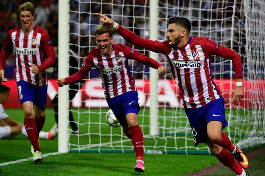 79e. Egalisation pour l'Atletico Madrid de Yannick Ferreira Carrasco