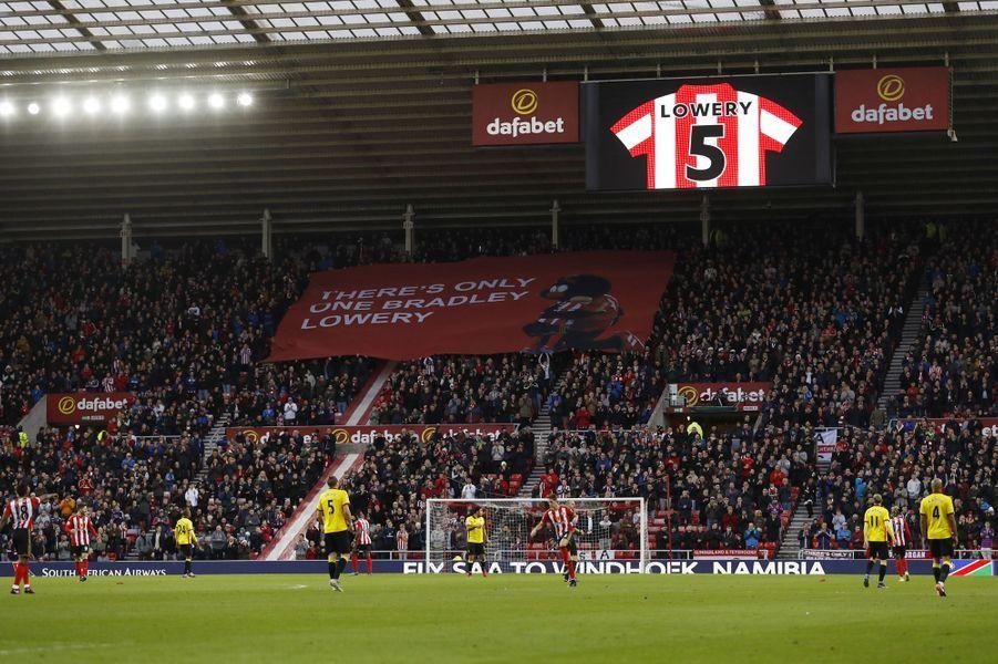 L'hommage rendu à Bradley le 14 décembre dernier.