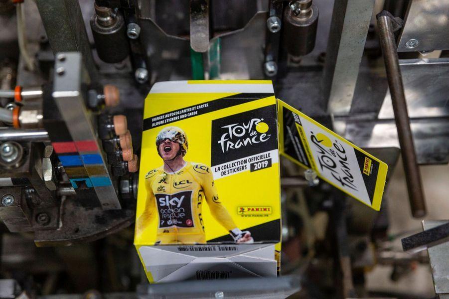 Panini lance pour la première fois un album de vignettes pour le Tour de France.