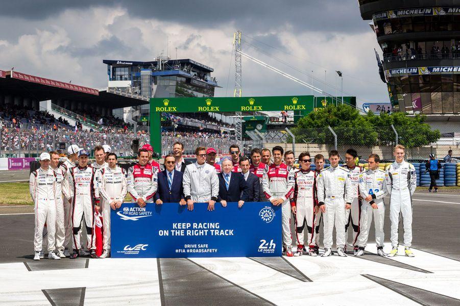 Les 24 heures du Mans se sont déroulées ce weekend.