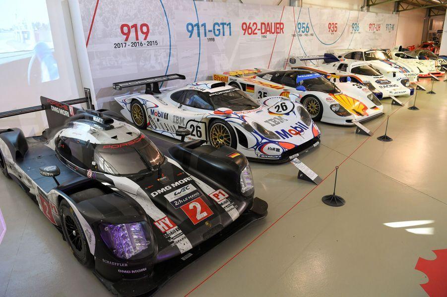 L'exposition «Porsche at Le Mans» a lieu actuellement au Musée des 24 Heures du Mans.