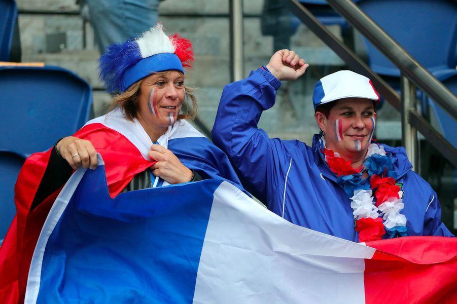 Vendredi au parc des princes, les Bleues et les Sud-coréennes ontlancé le Mondial-2019.