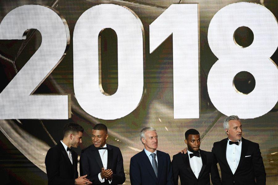 Les champions du monde 2018 à l'honneur à la cérémonie du Ballon d'or.