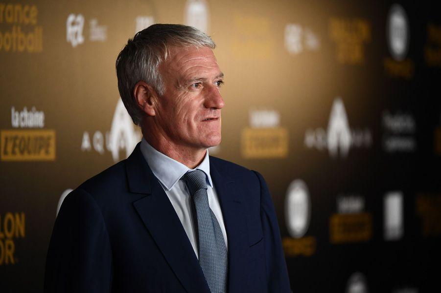 Didier Deschamps à la cérémonie du ballon d'Or.