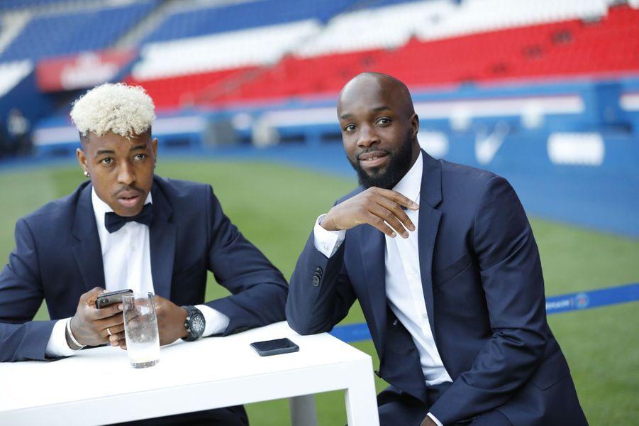 Presnel Kimpembe et Lassana Diarra.