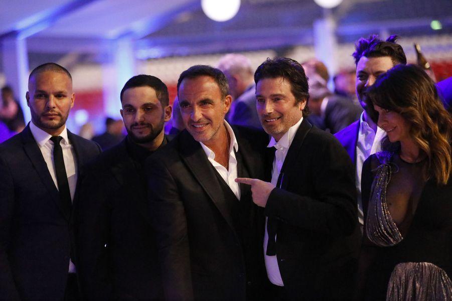 Nikos Aliagas était invité à faire des photos pour le PSG.