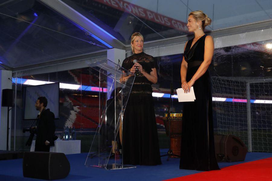 Anne-Laure Bonnet etChristine Le Gal, ladirectricede la Fondation PSG.