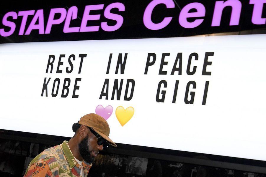 Le Staples Center, le 31 janvier 2020.