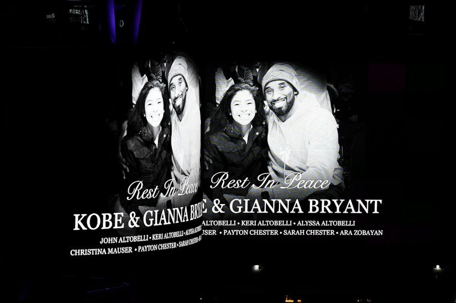 Hommage à Kobe Bryant et sa fille Gianna.