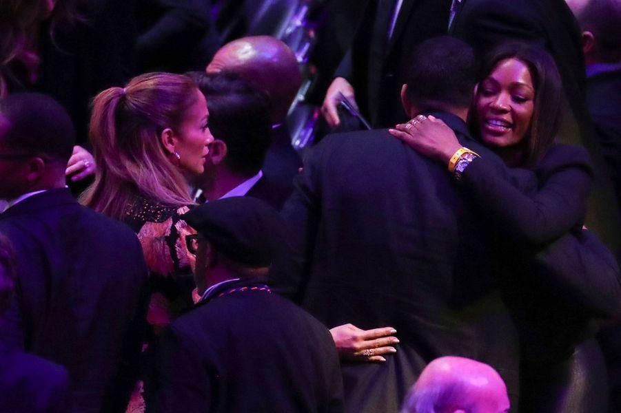 En présence de Jennifer Lopez