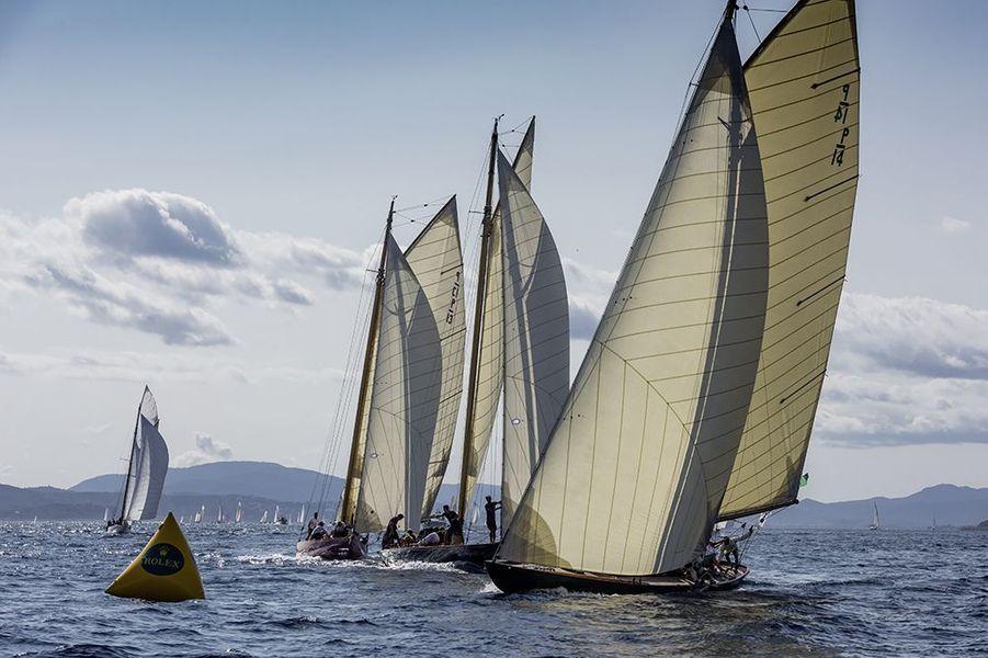 Malgré le contexte sanitaire, les Voiles de Saint-Tropez, compétition prestigieuse, ont bien eu lieu en 2020.