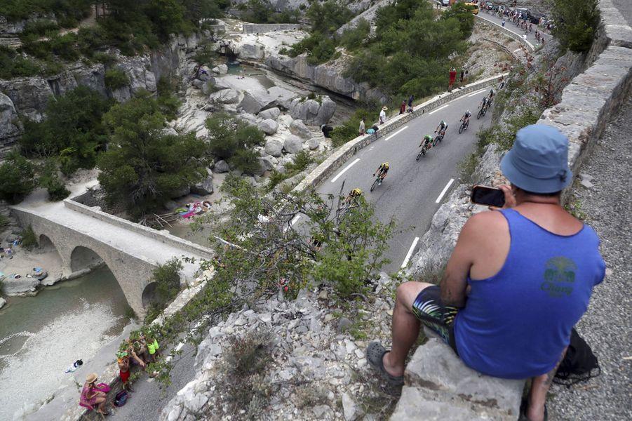Le 24 juillet entre Pont Du Gard et Gap.