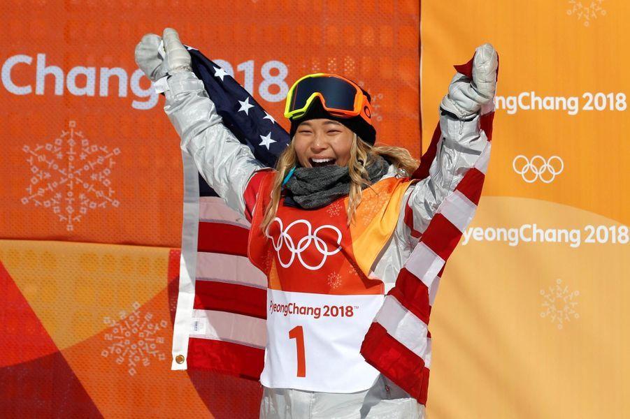 Chloe Kim, la star du snowboard
