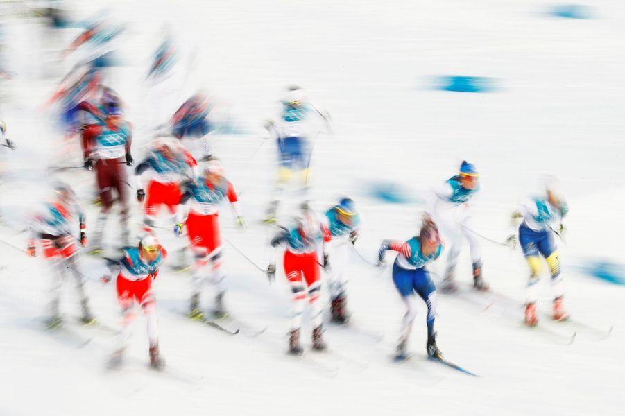 L'épreuve du Skiathlon