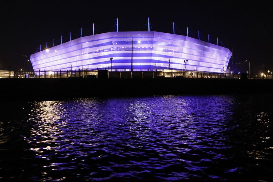 La Baltika Arena à Kaliningrad.