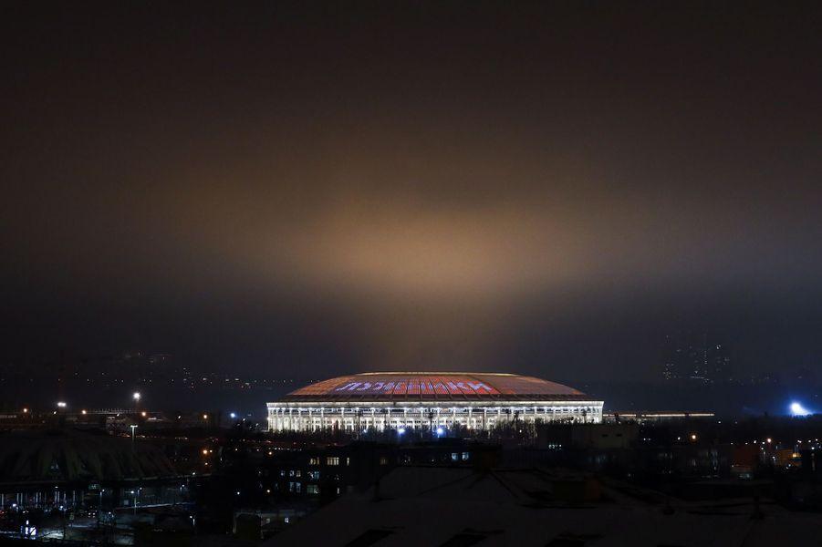 Le stadeLoujniki, à Moscou.