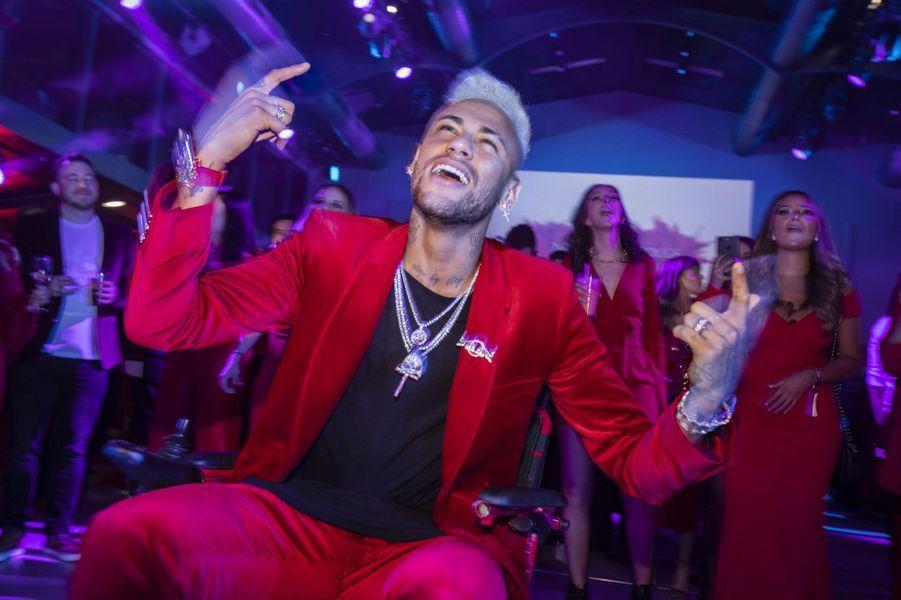 L'anniversaire de Neymar à Paris