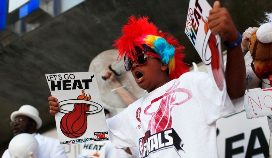 """""""Let's go Heat"""": match à domicile"""