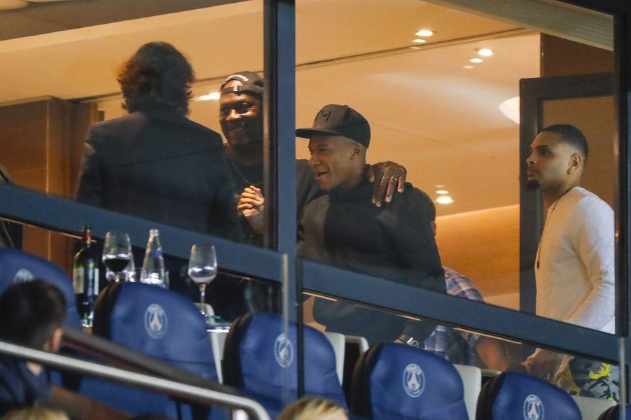 Michael Jordan, Kylian Mbappé et Layvin Kurzawa