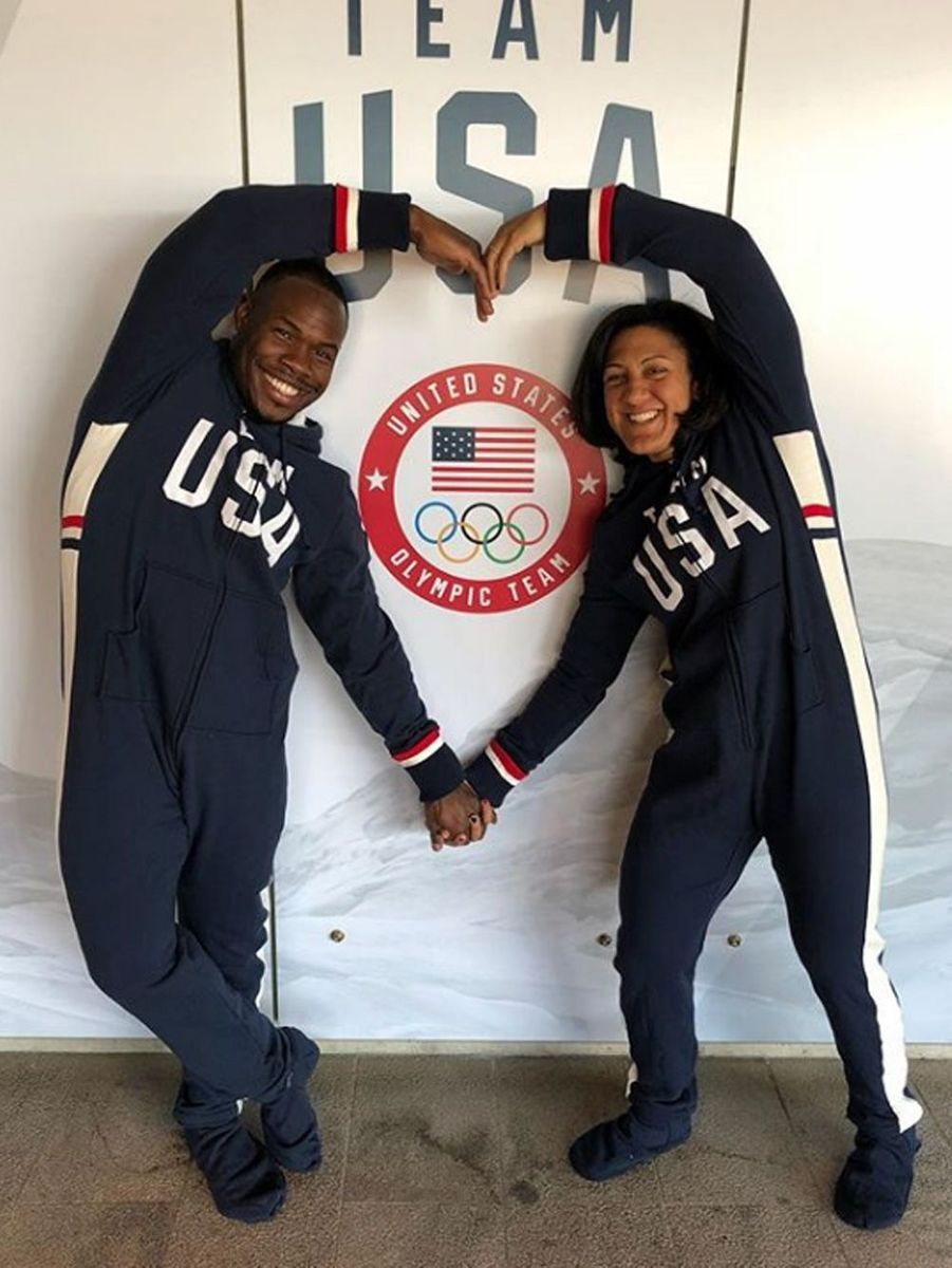Elana Meyers et Taylor Nic Taylor - USA - (Bobsleigh)