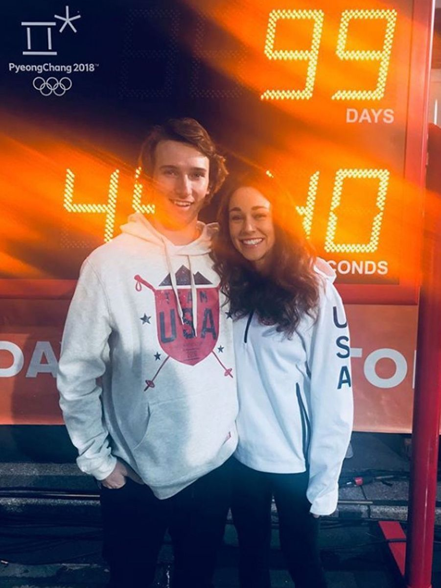 Torin Yater-Wallace et Sarah Hendrickson - USA - (ski halfpipe et saut à ski)