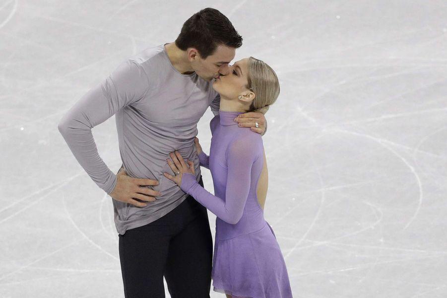 Alexa Scimeca Knierim et Chris Knierim - USA - (patinage artistique)