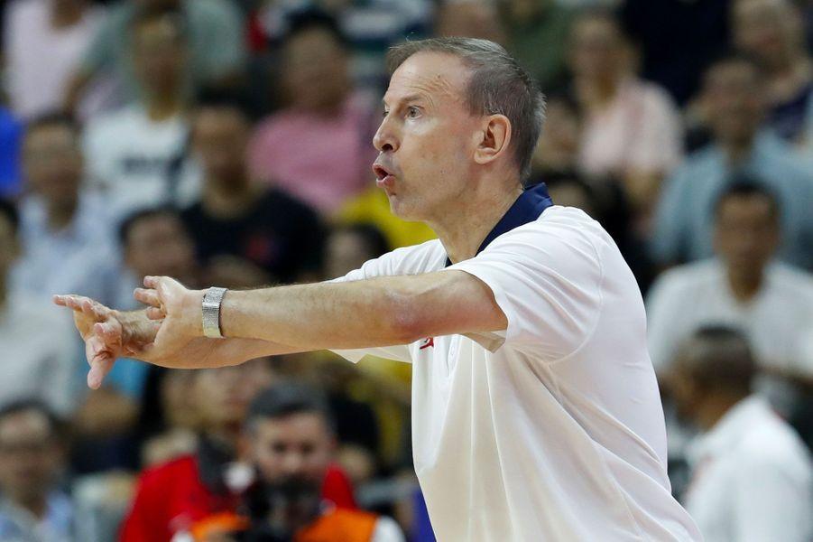 L'entraîneur françaisVincent Collet.
