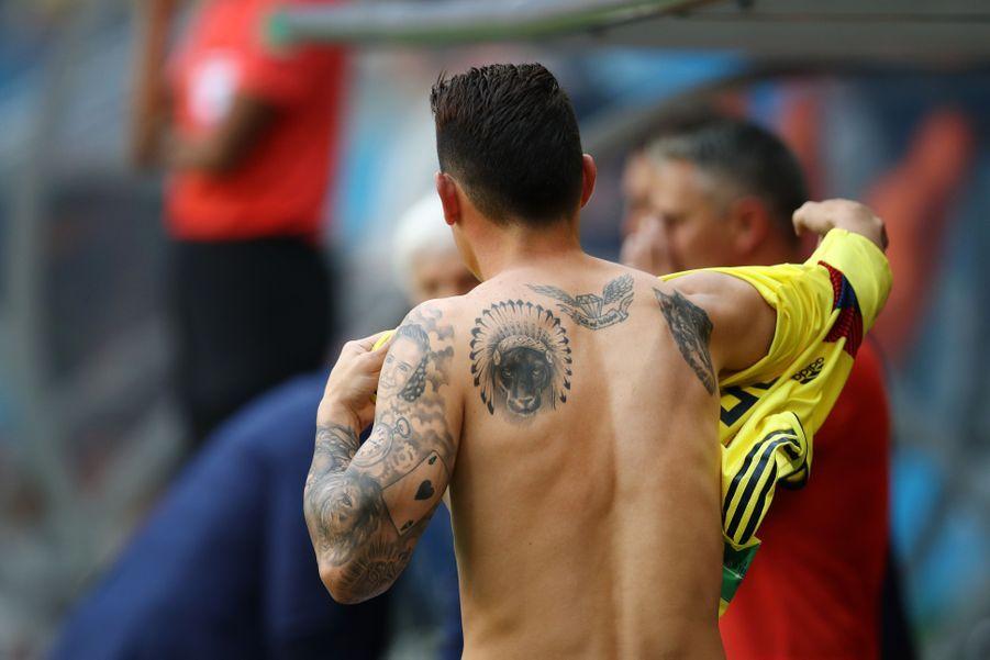 Le Colombien James Rodriguez