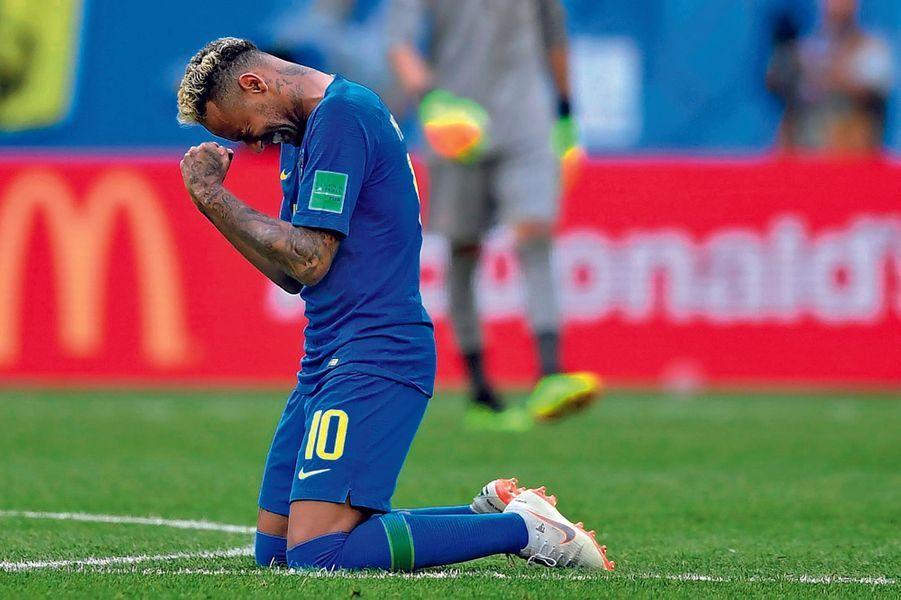 Le Brésilien Neymar