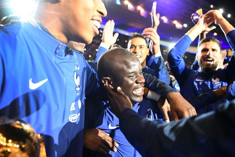 N'Golo Kanté dimanche soir au Stade de France.