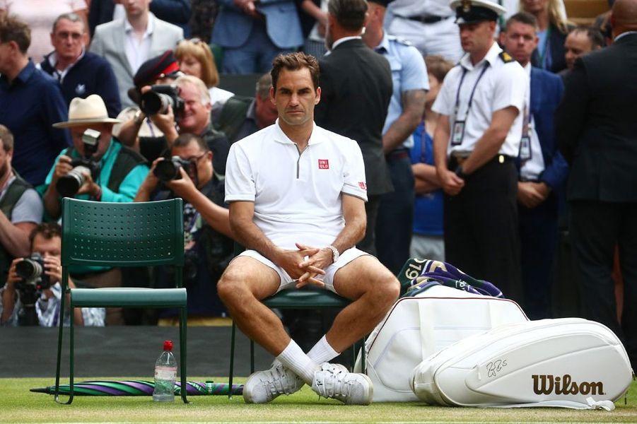 Roger Federer défait
