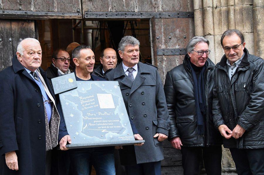 Jean-Marie Leblanc, Bernard Thevenet et Gilbert Duclos-Lassalle