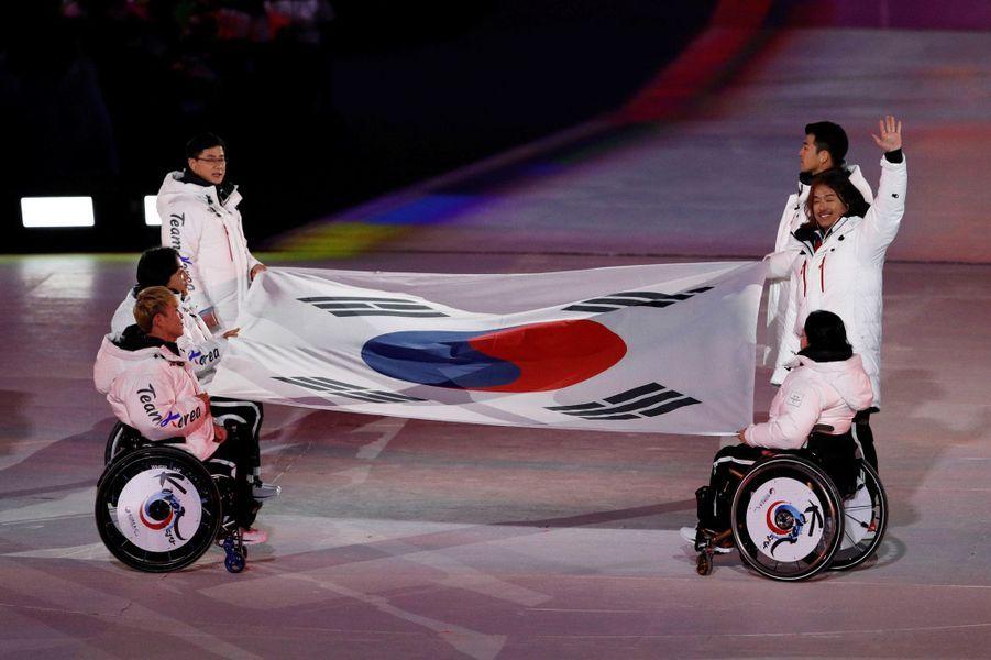 Les plus belles images de lacérémonie de clôture desJeux paralympiques de Pyeongchang (Corée du Sud).