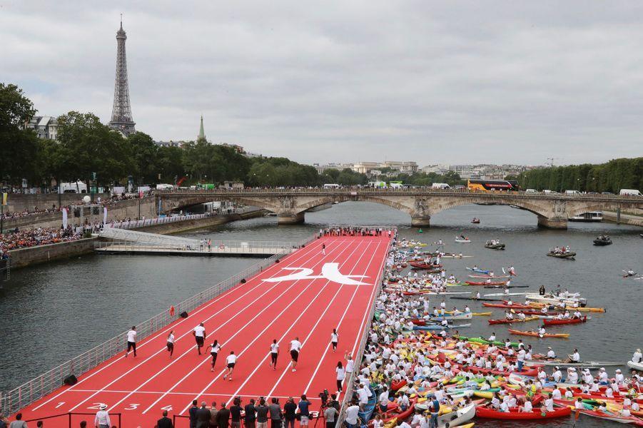 Activités mises en place pour Paris 2024, vendredi 23 juin 2017.