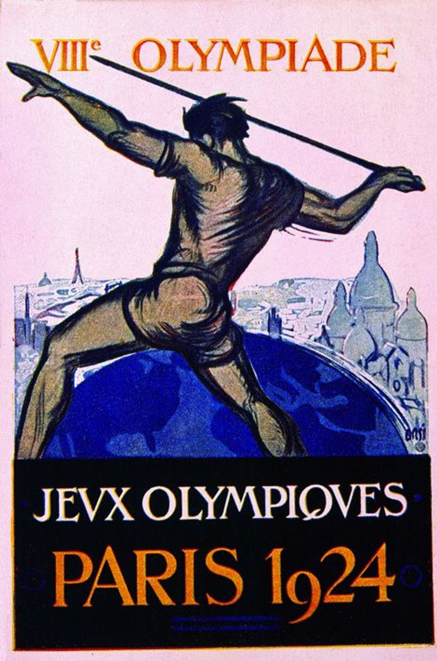 Dessin des JO de 1924