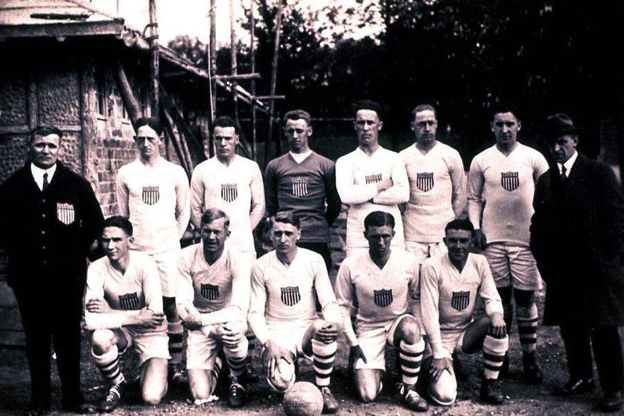 Equipe américaine de football, 1924