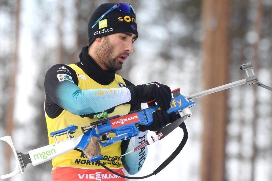 Martin Fourcade a achevé sa carrière sur une victoire àKontiolahti, en Finlande, le 14 mars 2020.