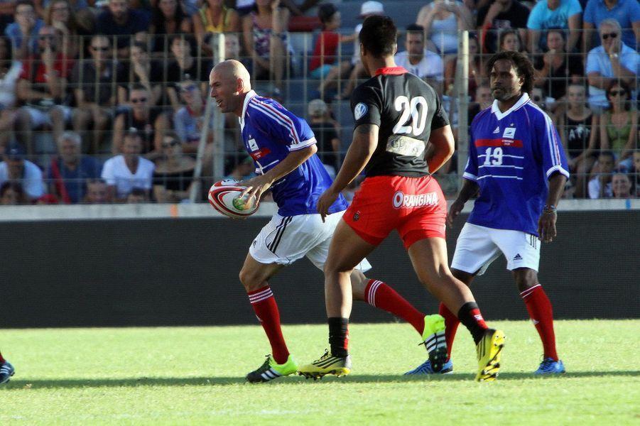 Quand Zidane se met au rugby