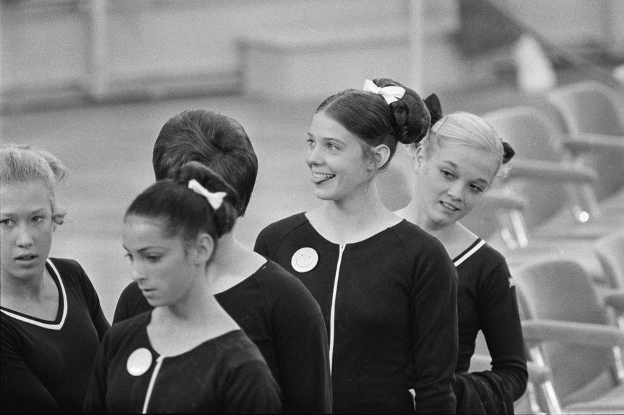Munich, 1972. Les gymnastes américaines.