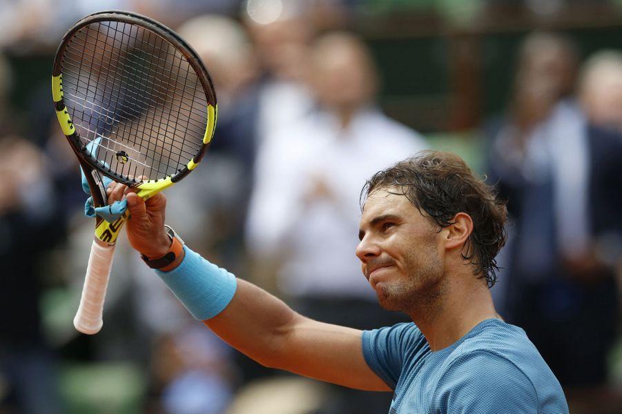 Rafael Nadal à Roland-Garros, le 26 mai 2016.