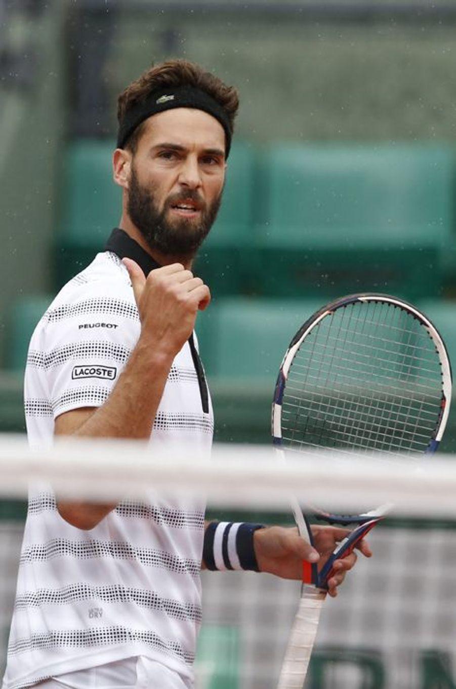 Benoît Paire à Roland Garros, le 22 mai 2016.