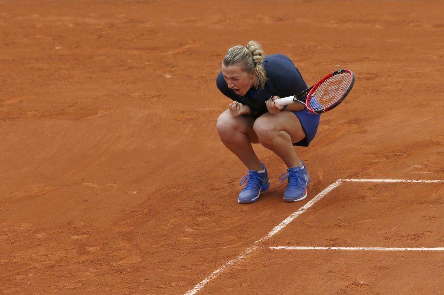 Petra Kvitova à Roland Garros, le 22 mai 2016.