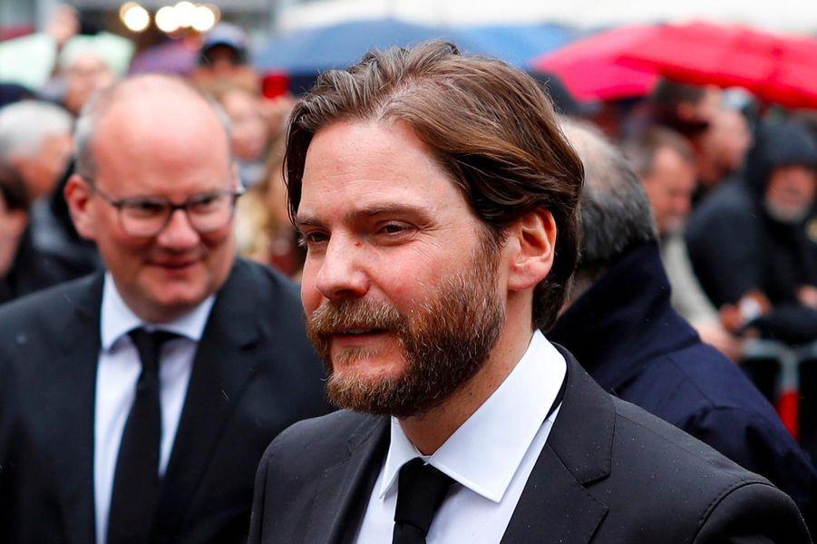 Daniel Brühlaux obsèques de Niki Lauda à Vienne, le 29 mai 2019.