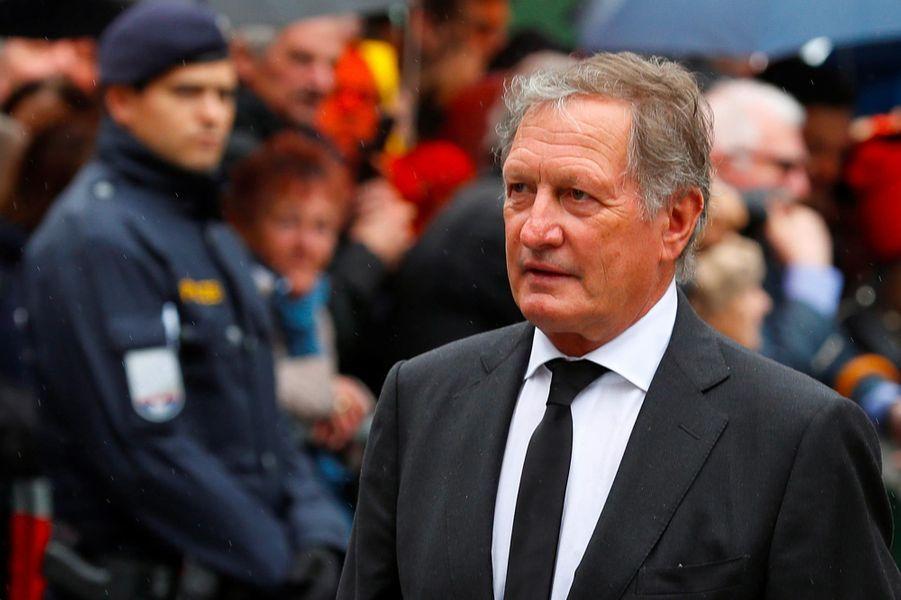 Franz Klammeraux obsèques de Niki Lauda à Vienne, le 29 mai 2019.