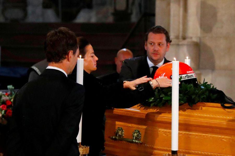 Aux obsèques de Niki Lauda à Vienne, le 29 mai 2019.