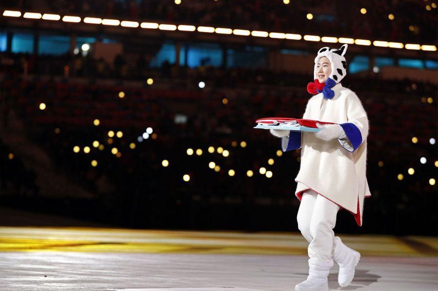 La cérémonie de clôture des Jeux Olympiques.