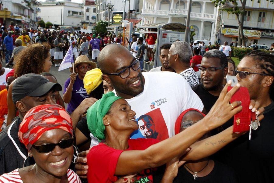 Le retour de Teddy Riner en Guadeloupe.