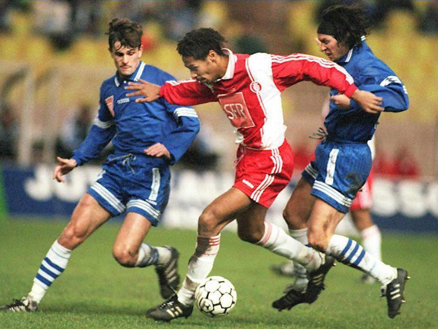 Thierry Henry sous le maillot monégasque