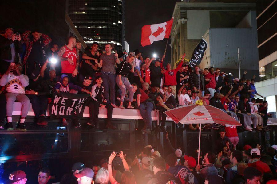 Toronto célèbre dans la liesse son premier titre NBA