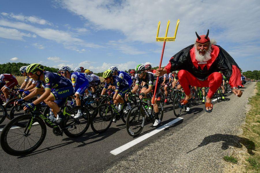«El Diablo»au rendez-vous sur les routes entre Troyes et Nuits-Saint-Georges.